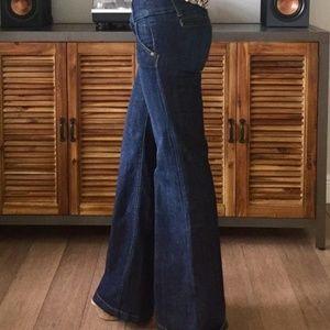 Zana Di Jeans vintage retro wide leg flare size 9